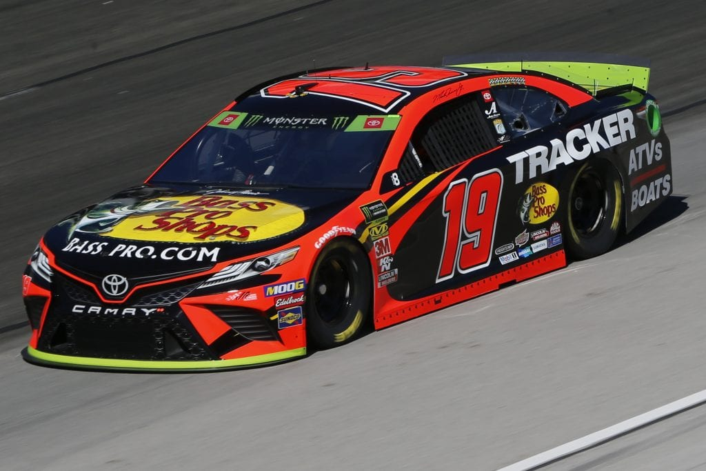 FORT WORTH, TEXAS - NOVEMBER 01: Martin Truex Jr., driver of the #19 Bass Pro Shops Toyota, practices for the Monster Energy NASCAR Cup Series AAA Texas 500 at Texas Motor Speedway on November 01, 2019 in Fort Worth, Texas. (Photo by Jonathan Ferrey/Getty Images) | Getty Images