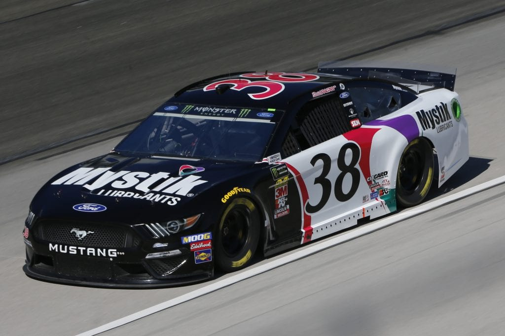 FORT WORTH, TEXAS - NOVEMBER 01: David Ragan, driver of the #38 Mystik Lubricants Ford, practices for the Monster Energy NASCAR Cup Series AAA Texas 500 at Texas Motor Speedway on November 01, 2019 in Fort Worth, Texas. (Photo by Jonathan Ferrey/Getty Images) | Getty Images