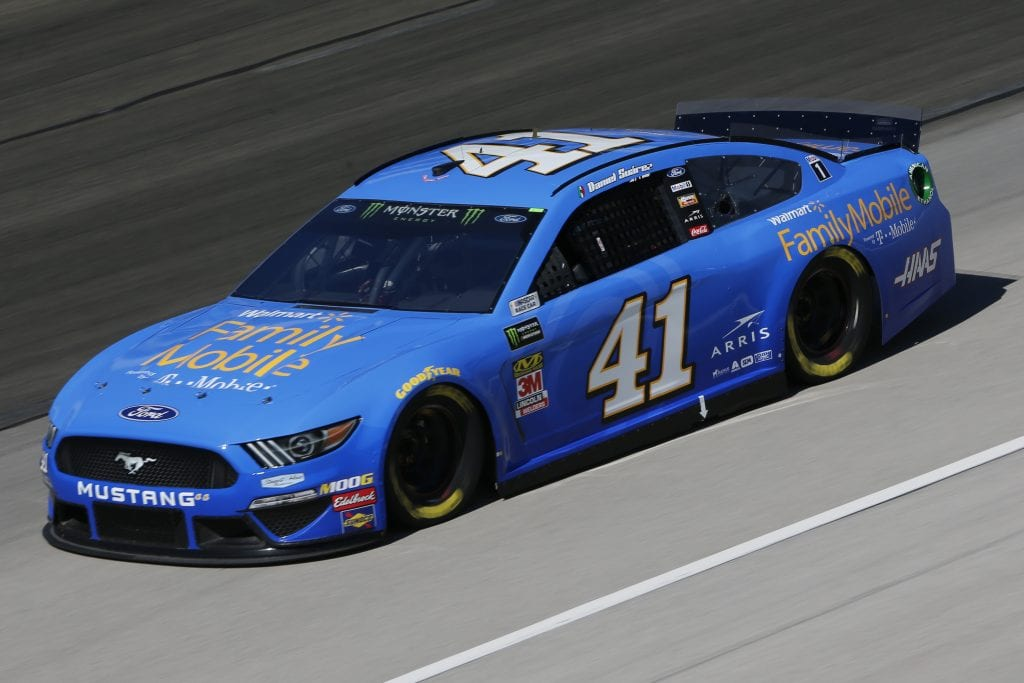 FORT WORTH, TEXAS - NOVEMBER 01: Daniel Suarez, driver of the #41 Walmart Family Mobile Ford, practices for the Monster Energy NASCAR Cup Series AAA Texas 500 at Texas Motor Speedway on November 01, 2019 in Fort Worth, Texas. (Photo by Jonathan Ferrey/Getty Images) | Getty Images