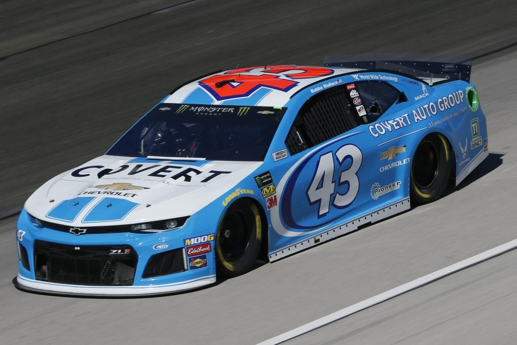 FORT WORTH, TEXAS - NOVEMBER 01: Bubba Wallace, driver of the #43 Covert Auto Group Chevrolet, practices for the Monster Energy NASCAR Cup Series AAA Texas 500 at Texas Motor Speedway on November 01, 2019 in Fort Worth, Texas. (Photo by Jonathan Ferrey/Getty Images) | Getty Images