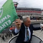 BRISTOL, TN - APRIL 07:  Darrell Waltrip waves the green flag prior to the Monster Energy NASCAR Cup Series Food City 500 at Bristol Motor Speedway on April 7, 2019 in Bristol, Tennessee.  (Photo by Chris Graythen/Getty Images) | Getty Images