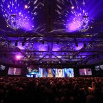 CHARLOTTE, NORTH CAROLINA - JANUARY 31: A general view of the NASCAR Hall of Fame Induction Ceremony at the Charlotte Convention Center on January 31, 2020 in Charlotte, North Carolina. (Photo by Streeter Lecka/Getty Images) | Getty Images