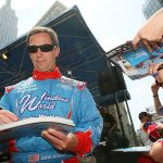 NEW YORK – MAY 25: Indy 500 driver John Andretti signs autographs at Macy's and IZOD's celebration of the Indianapolis Motor Speedway and the Indy 500 at Macy's Herald Square on May 25, 2010 in New York City. (Photo by Mike Stobe/Getty Images) | Getty Images