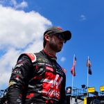 LOUDON, NEW HAMPSHIRE - JULY 19: Daniel Suarez, driver of the #41 Haas Automation Ford, walks through the garage area during practice for the Monster Energy NASCAR Cup Series Foxwoods Resort Casino 301 at New Hampshire Motor Speedway on July 19, 2019 in Loudon, New Hampshire. (Photo by Jared C. Tilton/Getty Images) | Getty Images