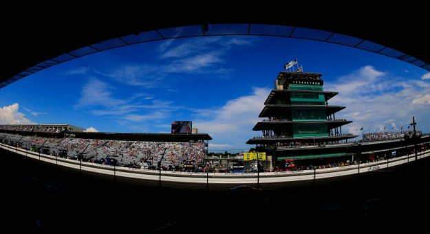 INDIANAPOLIS, IN - JULY 23:  A general view of the speedway during the Monster Energy NASCAR Cup Series Brickyard 400 at Indianapolis Motorspeedway on July 23, 2017 in Indianapolis, Indiana.  (Photo by Daniel Shirey/Getty Images) | Getty Images