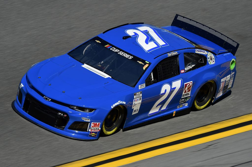 DAYTONA BEACH, FLORIDA - FEBRUARY 08: Reed Sorenson, driver of the #27 Chevrolet, practices for the NASCAR Cup Series 62nd Annual Daytona 500 at Daytona International Speedway on February 08, 2020 in Daytona Beach, Florida. (Photo by Jared C. Tilton/Getty Images) | Getty Images