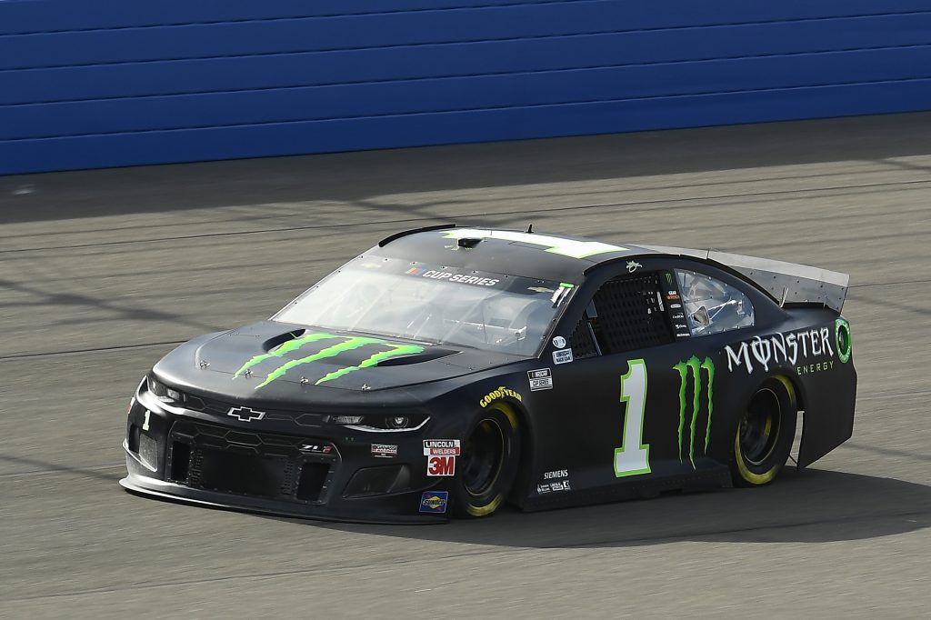FONTANA, CALIFORNIA - FEBRUARY 28: Kurt Busch, driver of the #1 VMonster Energy Chevrolet, practices for the NASCAR Cup Series Auto Club 400 at Auto Club Speedway on February 28, 2020 in Fontana, California. (Photo by Stacy Revere/Getty Images) | Getty Images