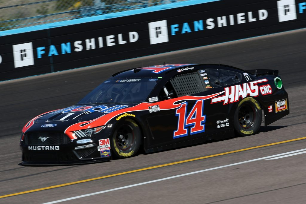 AVONDALE, ARIZONA - MARCH 06: Clint Bowyer, driver of the #14 Rush/Mobil 1 Ford, practices during practice for the NASCAR Cup Series FanShield 500 at Phoenix Raceway on March 06, 2020 in Avondale, Arizona. (Photo by Chris Graythen/Getty Images) | Getty Images