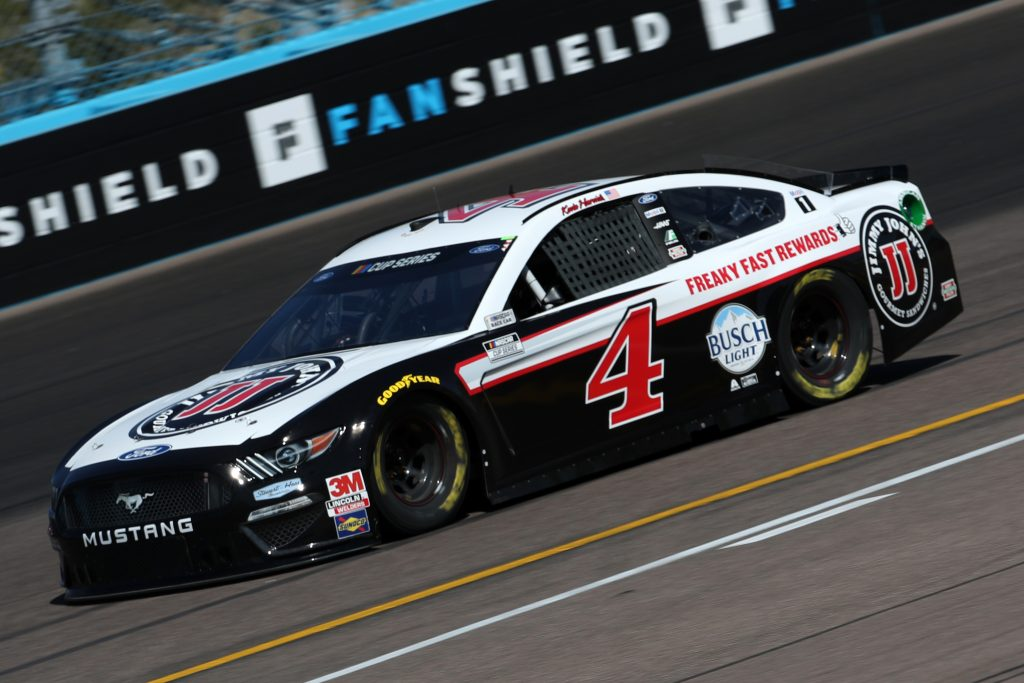 AVONDALE, ARIZONA - MARCH 06: Kevin Harvick, driver of the #4 Jimmy John's Freaky Fast Rewards Ford, practices during practice for the NASCAR Cup Series FanShield 500 at Phoenix Raceway on March 06, 2020 in Avondale, Arizona. (Photo by Chris Graythen/Getty Images) | Getty Images