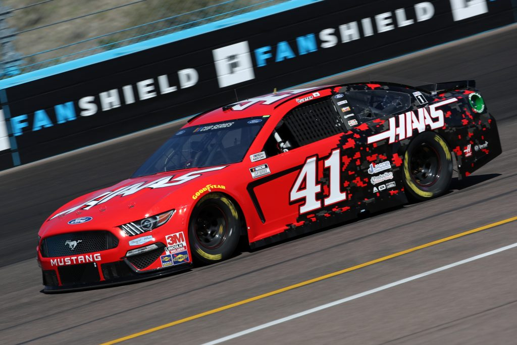 AVONDALE, ARIZONA - MARCH 06: Cole Custer, driver of the #41 Haas Automation Ford, practices during practice for the NASCAR Cup Series FanShield 500 at Phoenix Raceway on March 06, 2020 in Avondale, Arizona. (Photo by Chris Graythen/Getty Images) | Getty Images