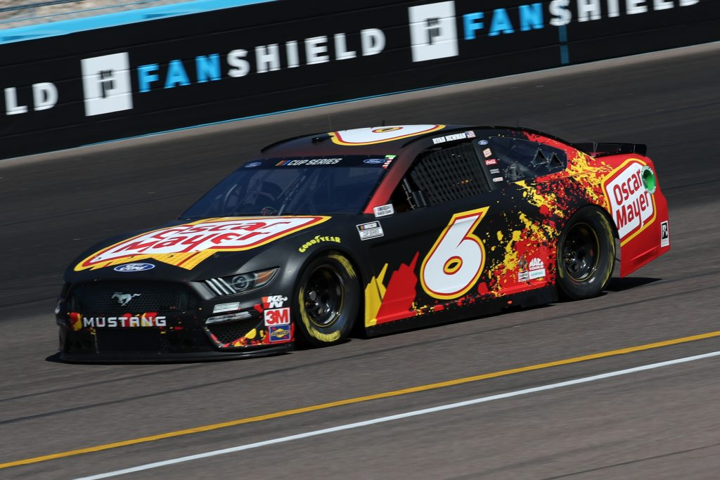 AVONDALE, ARIZONA - MARCH 06: Ross Chastain, driver of the #6 Oscar Mayer Ford,practices during practice for the NASCAR Cup Series FanShield 500 at Phoenix Raceway on March 06, 2020 in Avondale, Arizona. (Photo by Chris Graythen/Getty Images) | Getty Images