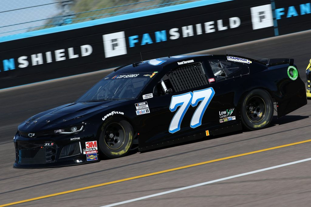 AVONDALE, ARIZONA - MARCH 06: Reed Sorenson, driver of the #77 Spire Motorsports Chevrolet, practice during practice for the NASCAR Cup Series FanShield 500 at Phoenix Raceway on March 06, 2020 in Avondale, Arizona. (Photo by Chris Graythen/Getty Images) | Getty Images