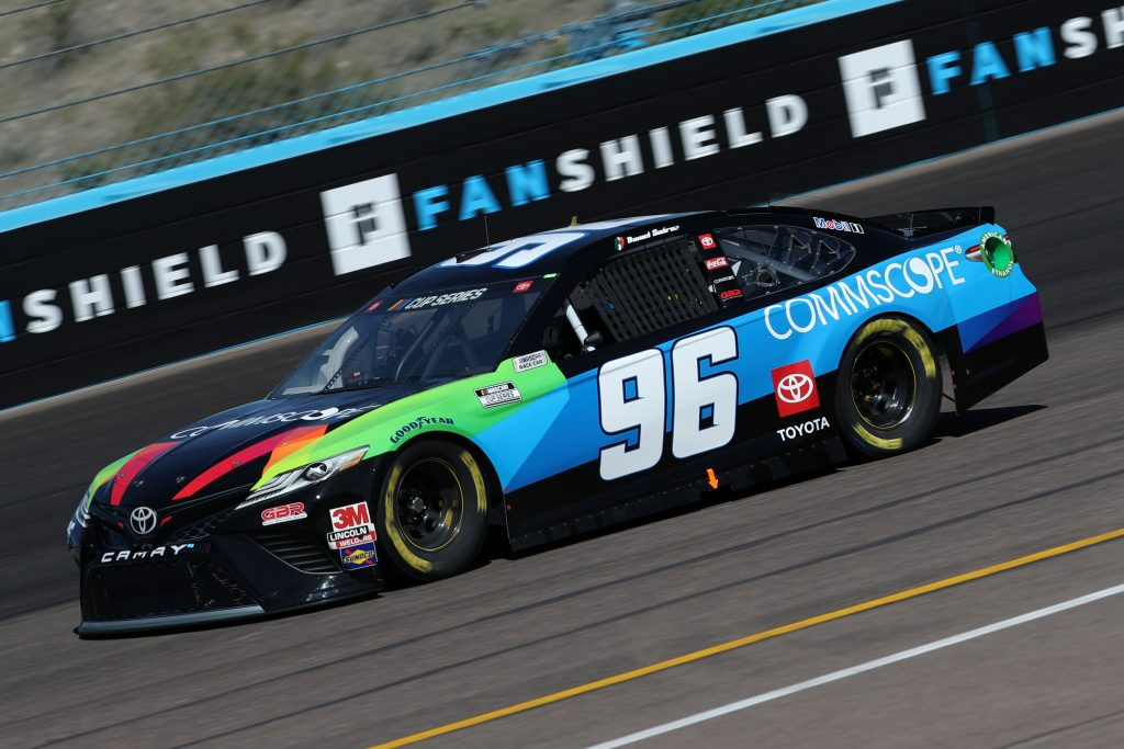 AVONDALE, ARIZONA - MARCH 06: Daniel Suarez, driver of the #96 CommScope Toyota, practices during practice for the NASCAR Cup Series FanShield 500 at Phoenix Raceway on March 06, 2020 in Avondale, Arizona. (Photo by Chris Graythen/Getty Images) | Getty Images