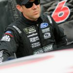 CHARLOTTE, NORTH CAROLINA – MAY 18: Matt Kenseth, driver of the #6 DoYouKnowJack Ford, waits in the garage area during qualifying for the Monster Energy NASCAR Cup Series All-Star Race at Charlotte Motor Speedway on May 18, 2018 in Charlotte, North Carolina. (Photo by Brian Lawdermilk/Getty Images) | Getty Images