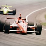 30 May 1999: Tony Stewart #3 races at the Indianapolis 500 in Indianapolis, Indiana. Mandatory Credit: Vincent Laforet/ALLSPORT