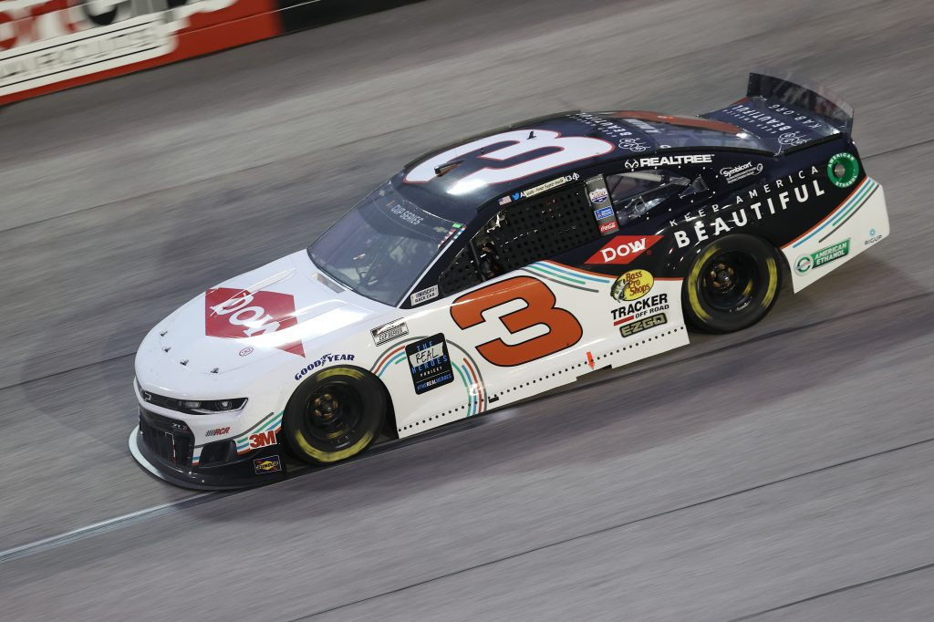 DARLINGTON, SOUTH CAROLINA - MAY 20: Austin Dillon, driver of the #3 DOW/Keep America Beautiful Chevrolet, drives during the NASCAR Cup Series Toyota 500 at Darlington Raceway on May 20, 2020 in Darlington, South Carolina. (Photo by Chris Graythen/Getty Images) | Getty Images