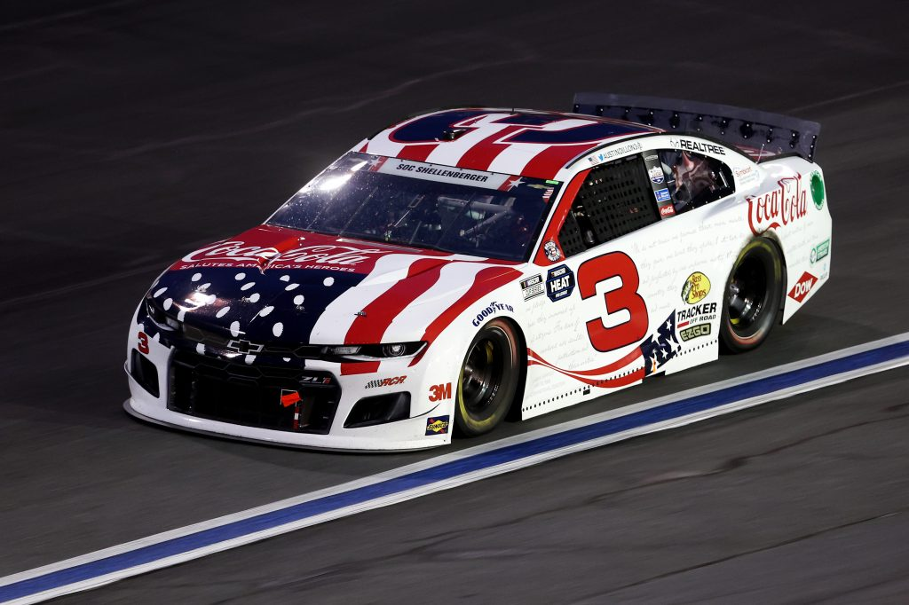 CONCORD, NORTH CAROLINA - MAY 24: Austin Dillon, driver of the #3 Coca-Cola Chevrolet, drives during the NASCAR Cup Series Coca-Cola 600 at Charlotte Motor Speedway on May 24, 2020 in Concord, North Carolina. (Photo by Chris Graythen/Getty Images) | Getty Images