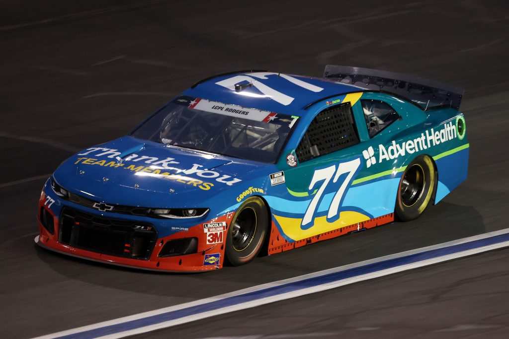 CONCORD, NORTH CAROLINA - MAY 24: Ross Chastain, driver of the #77 AdventHealth Chevrolet, drives during the NASCAR Cup Series Coca-Cola 600 at Charlotte Motor Speedway on May 24, 2020 in Concord, North Carolina. (Photo by Chris Graythen/Getty Images) | Getty Images