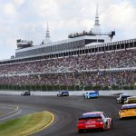 LONG POND, PENNSYLVANIA - JULY 28: A general view of racing during the Monster Energy NASCAR Cup Series Gander RV 400 at Pocono Raceway on July 28, 2019 in Long Pond, Pennsylvania. (Photo by Jared C. Tilton/Getty Images)   Getty Images