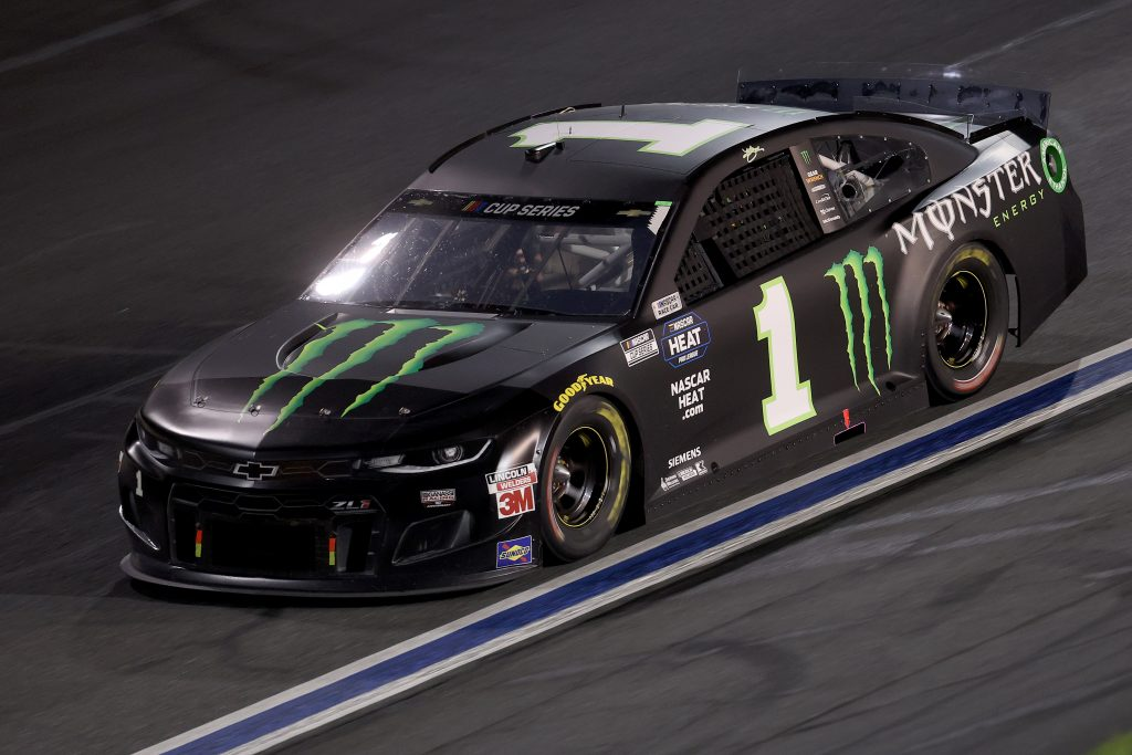 CONCORD, NORTH CAROLINA - MAY 28: Kurt Busch, driver of the #1 Monster Energy Chevrolet, drives during the NASCAR Cup Series Alsco Uniforms 500 at Charlotte Motor Speedway on May 28, 2020 in Concord, North Carolina. (Photo by Chris Graythen/Getty Images) | Getty Images