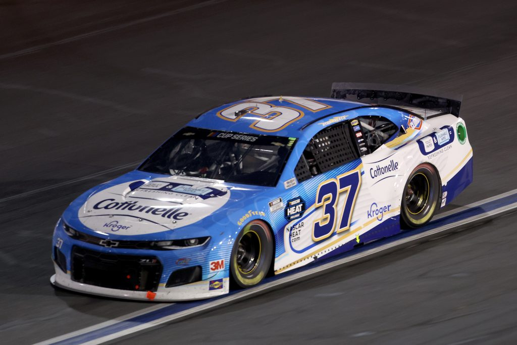 CONCORD, NORTH CAROLINA - MAY 28: Ryan Preece, driver of the #37 Cottonelle Chevrolet, drives during the NASCAR Cup Series Alsco Uniforms 500 at Charlotte Motor Speedway on May 28, 2020 in Concord, North Carolina. (Photo by Chris Graythen/Getty Images) | Getty Images