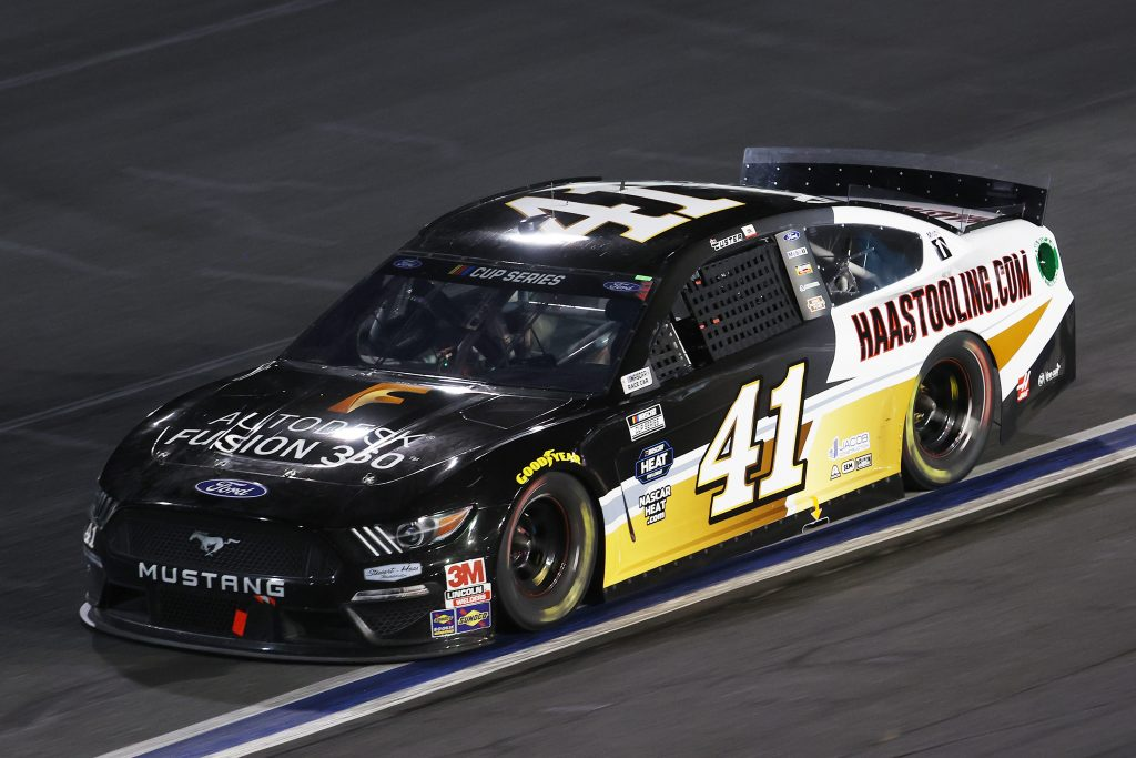 CONCORD, NORTH CAROLINA - MAY 28: Cole Custer, driver of the #41 Autodesk/HaasTooling.com Ford, drives during the NASCAR Cup Series Alsco Uniforms 500 at Charlotte Motor Speedway on May 28, 2020 in Concord, North Carolina. (Photo by Chris Graythen/Getty Images) | Getty Images