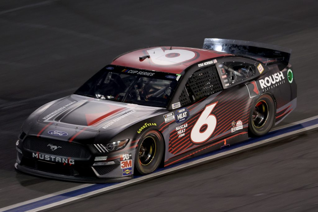 CONCORD, NORTH CAROLINA - MAY 28: Ryan Newman, driver of the #6 Roush Performance Ford, drives during the NASCAR Cup Series Alsco Uniforms 500 at Charlotte Motor Speedway on May 28, 2020 in Concord, North Carolina. (Photo by Chris Graythen/Getty Images) | Getty Images