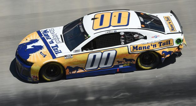 BRISTOL, TENNESSEE - MAY 31: Quin Houff, driver of the #00 Mane 'n Tail Chevrolet, drives during the NASCAR Cup Series Food City presents the Supermarket Heroes 500 at Bristol Motor Speedway on May 31, 2020 in Bristol, Tennessee. (Photo by Jared C. Tilton/Getty Images) | Getty Images