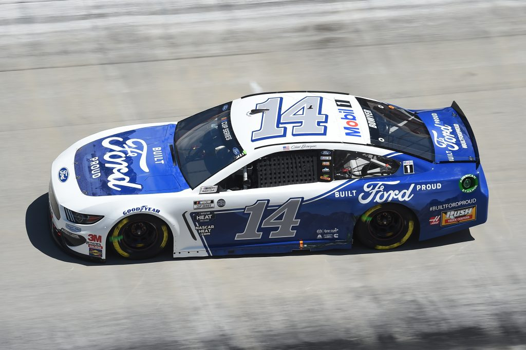 BRISTOL, TENNESSEE - MAY 31: Clint Bowyer, driver of the #14 Built Ford Proud Ford, drives during the NASCAR Cup Series Food City presents the Supermarket Heroes 500 at Bristol Motor Speedway on May 31, 2020 in Bristol, Tennessee. (Photo by Jared C. Tilton/Getty Images) | Getty Images