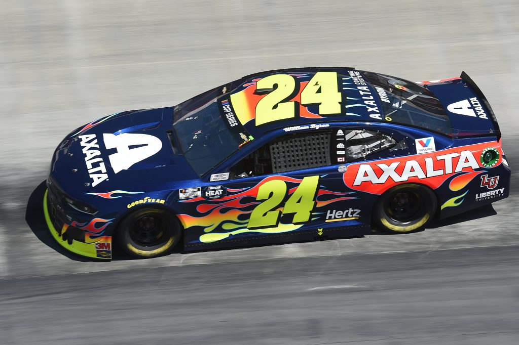 BRISTOL, TENNESSEE - MAY 31: William Byron, driver of the #24 Axalta Chevrolet, drives during the NASCAR Cup Series Food City presents the Supermarket Heroes 500 at Bristol Motor Speedway on May 31, 2020 in Bristol, Tennessee. (Photo by Jared C. Tilton/Getty Images) | Getty Images