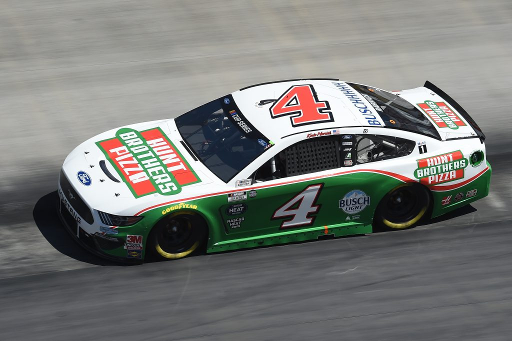 BRISTOL, TENNESSEE - MAY 31: Kevin Harvick, driver of the #4 Hunt Brothers Pizza Ford, drives during the NASCAR Cup Series Food City presents the Supermarket Heroes 500 at Bristol Motor Speedway on May 31, 2020 in Bristol, Tennessee. (Photo by Jared C. Tilton/Getty Images) | Getty Images