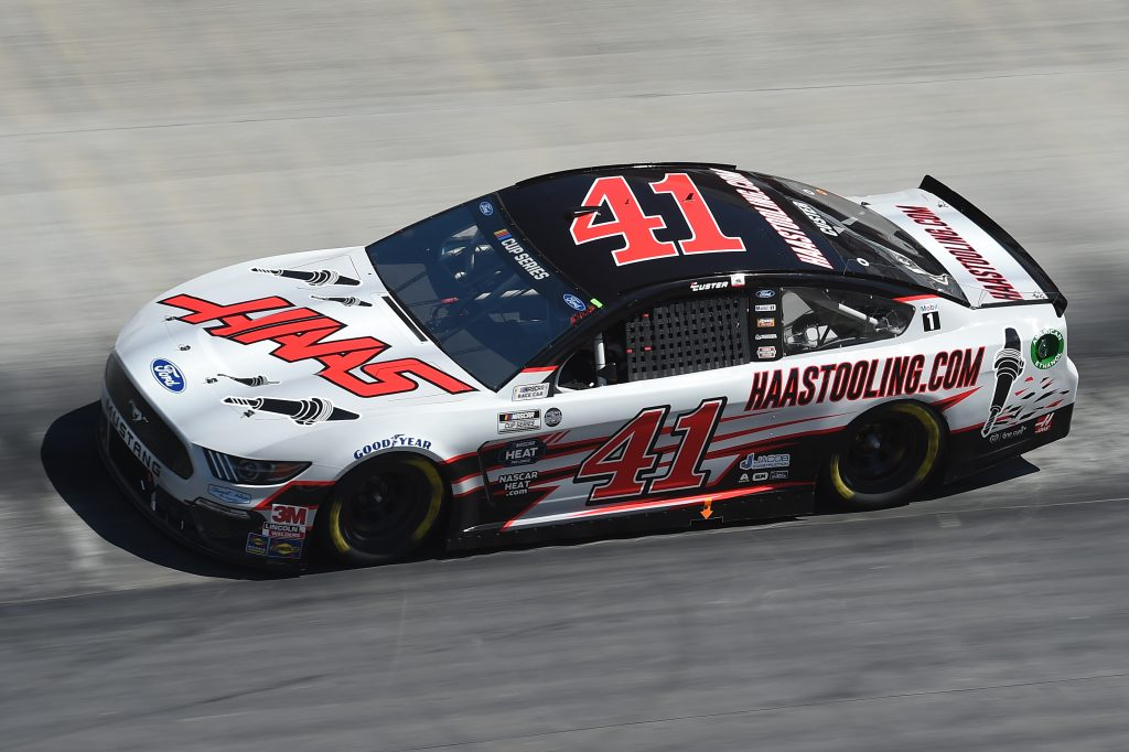 BRISTOL, TENNESSEE - MAY 31: Cole Custer, driver of the #41 Haas Automation Ford, drives during the NASCAR Cup Series Food City presents the Supermarket Heroes 500 at Bristol Motor Speedway on May 31, 2020 in Bristol, Tennessee. (Photo by Jared C. Tilton/Getty Images) | Getty Images
