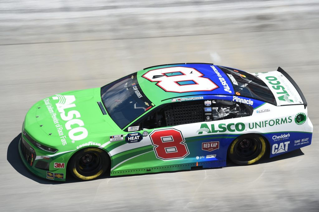 BRISTOL, TENNESSEE - MAY 31: Tyler Reddick, driver of the #8 Alsco Uniforms Chevrolet, drives during the NASCAR Cup Series Food City presents the Supermarket Heroes 500 at Bristol Motor Speedway on May 31, 2020 in Bristol, Tennessee. (Photo by Jared C. Tilton/Getty Images) | Getty Images