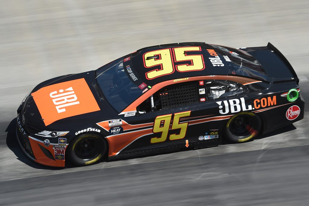 BRISTOL, TENNESSEE - MAY 31: Christopher Bell, driver of the #95 JBL Toyota, drives during the NASCAR Cup Series Food City presents the Supermarket Heroes 500 at Bristol Motor Speedway on May 31, 2020 in Bristol, Tennessee. (Photo by Jared C. Tilton/Getty Images) | Getty Images