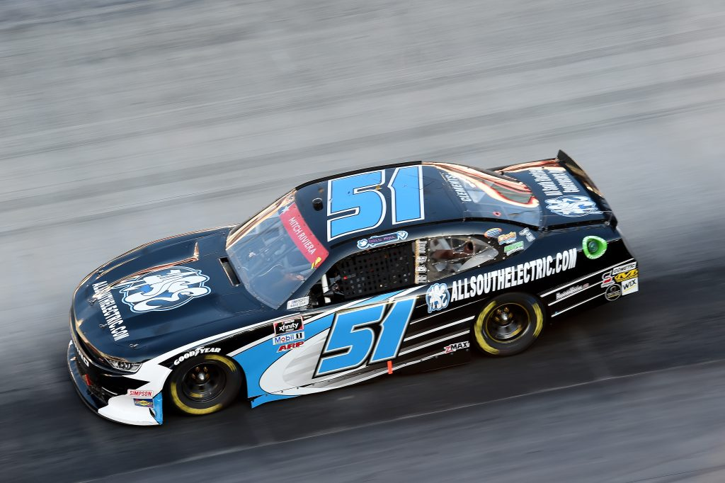 BRISTOL, TENNESSEE - JUNE 01: Jeremy Clements, driver of the #51 All South Electric Chevrolet, drives during the NASCAR Xfinity Series Cheddar's 300 presented by Alsco at Bristol Motor Speedway on June 01, 2020 in Bristol, Tennessee. (Photo by Jared C. Tilton/Getty Images) | Getty Images