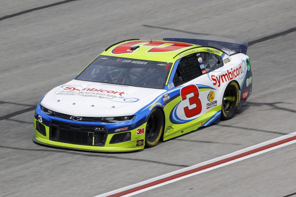 HAMPTON, GEORGIA - JUNE 07: Austin Dillon, driver of the #3 Symbicort Chevrolet, drives during the NASCAR Cup Series Folds of Honor QuikTrip 500 at Atlanta Motor Speedway on June 07, 2020 in Hampton, Georgia. (Photo by Chris Graythen/Getty Images) | Getty Images