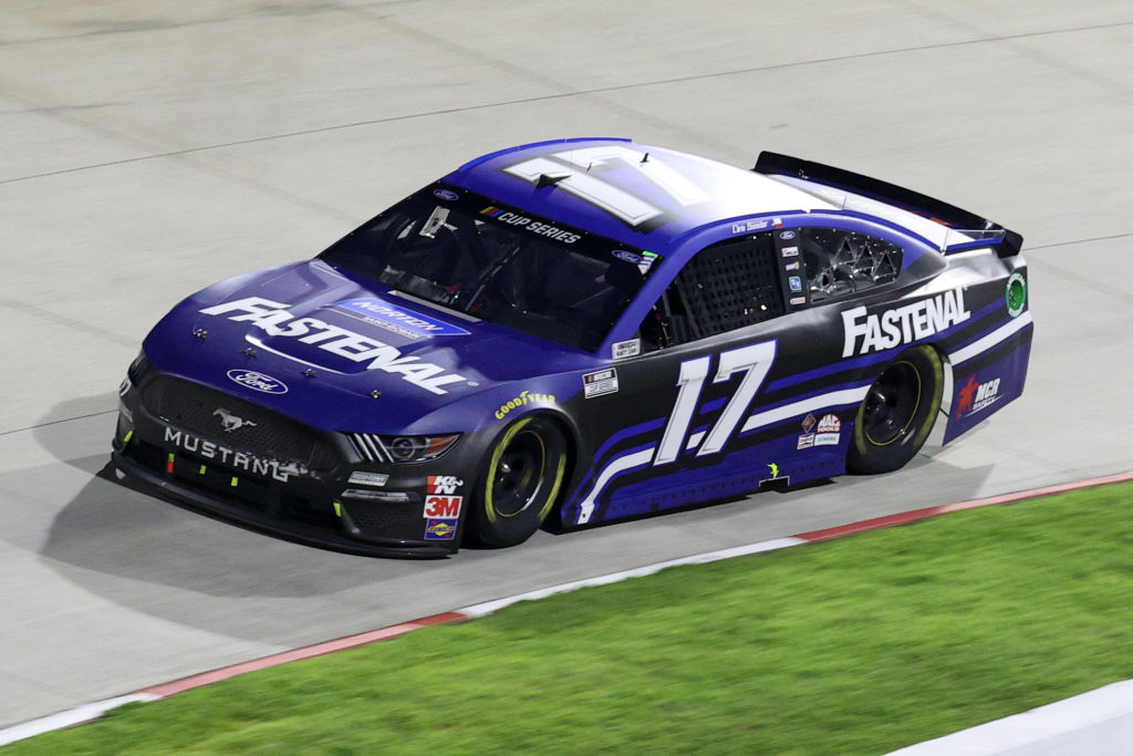 MARTINSVILLE, VIRGINIA - JUNE 10: Chris Buescher, driver of the #17 Fastenal Ford, drives during the NASCAR Cup Series Blue-Emu Maximum Pain Relief 500 at Martinsville Speedway on June 10, 2020 in Martinsville, Virginia. (Photo by Rob Carr/Getty Images) | Getty Images