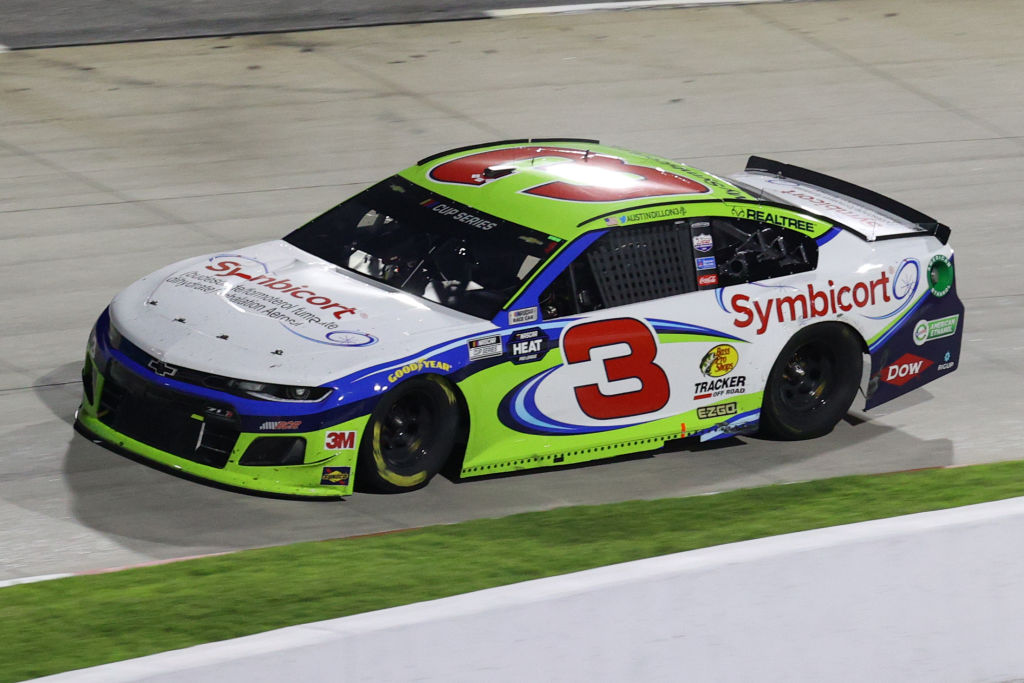 MARTINSVILLE, VIRGINIA - JUNE 10: Austin Dillon, driver of the #3 Symbicort Chevrolet, drives during the NASCAR Cup Series Blue-Emu Maximum Pain Relief 500 at Martinsville Speedway on June 10, 2020 in Martinsville, Virginia. (Photo by Rob Carr/Getty Images) | Getty Images