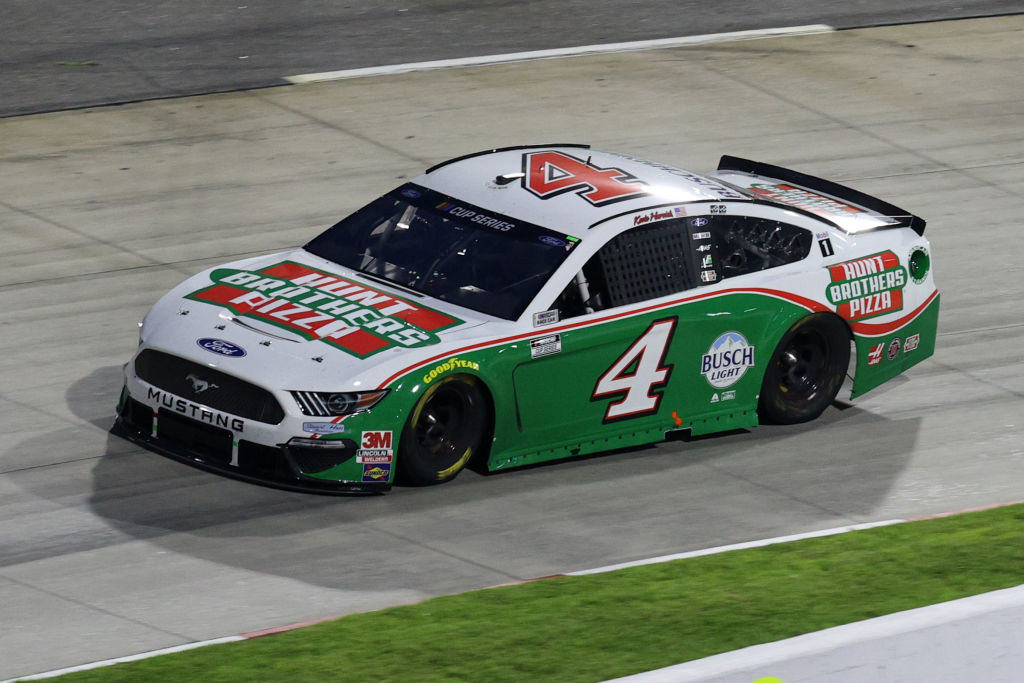 MARTINSVILLE, VIRGINIA - JUNE 10: Kevin Harvick, driver of the #4 Hunt Brothers Pizza Ford, drives during the NASCAR Cup Series Blue-Emu Maximum Pain Relief 500 at Martinsville Speedway on June 10, 2020 in Martinsville, Virginia. (Photo by Rob Carr/Getty Images) | Getty Images