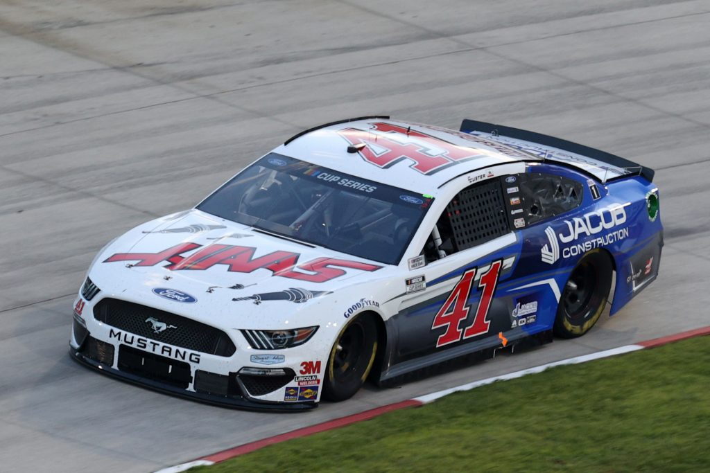 MARTINSVILLE, VIRGINIA - JUNE 10: Cole Custer, driver of the #41 HaasTooling.com/Jacom Co. Ford, drives during the NASCAR Cup Series Blue-Emu Maximum Pain Relief 500 at Martinsville Speedway on June 10, 2020 in Martinsville, Virginia. (Photo by Rob Carr/Getty Images) | Getty Images
