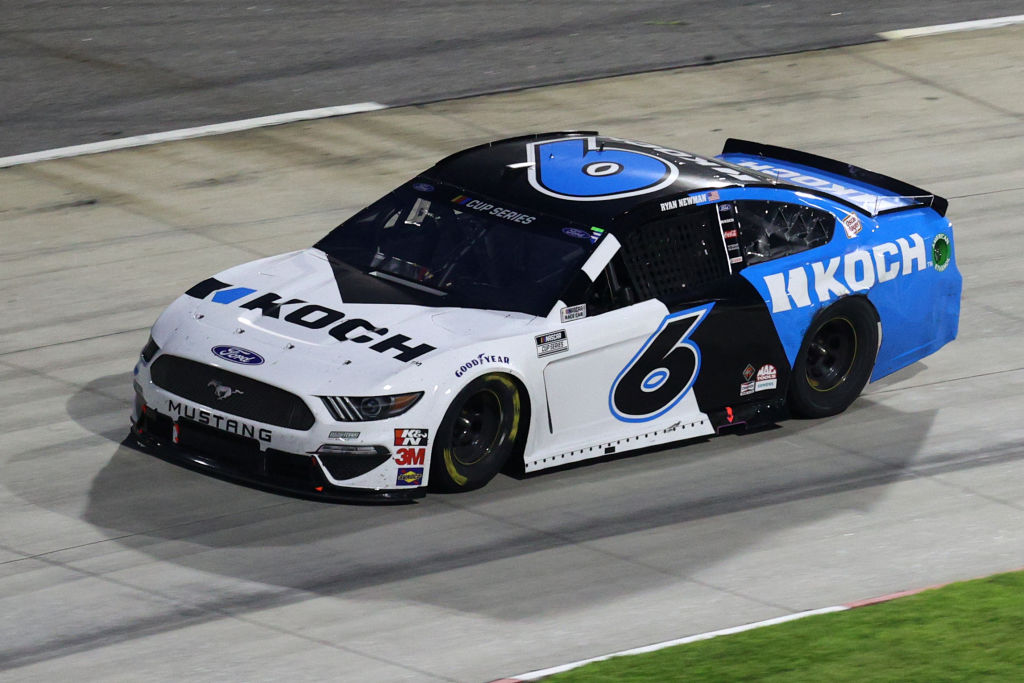 MARTINSVILLE, VIRGINIA - JUNE 10: Ryan Newman, driver of the #6 Koch Industries Ford, drives during the NASCAR Cup Series Blue-Emu Maximum Pain Relief 500 at Martinsville Speedway on June 10, 2020 in Martinsville, Virginia. (Photo by Rob Carr/Getty Images) | Getty Images