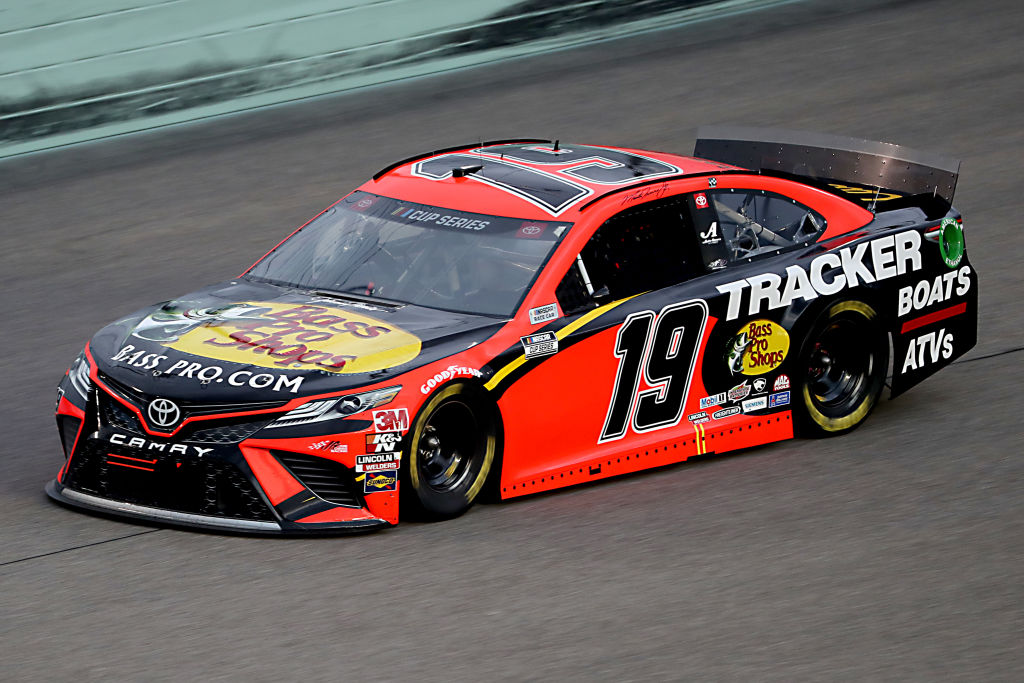 HOMESTEAD, FLORIDA - JUNE 14: Martin Truex Jr., driver of the #19 Toyota, races during the NASCAR Cup Series Dixie Vodka 400 at Homestead-Miami Speedway on June 14, 2020 in Homestead, Florida. (Photo by Chris Graythen/Getty Images) | Getty Images