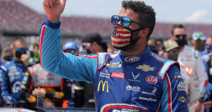 Denny Hamlin forming Cup team with Michael Jordan; Bubba Wallace to drive; charter from Germain Racing