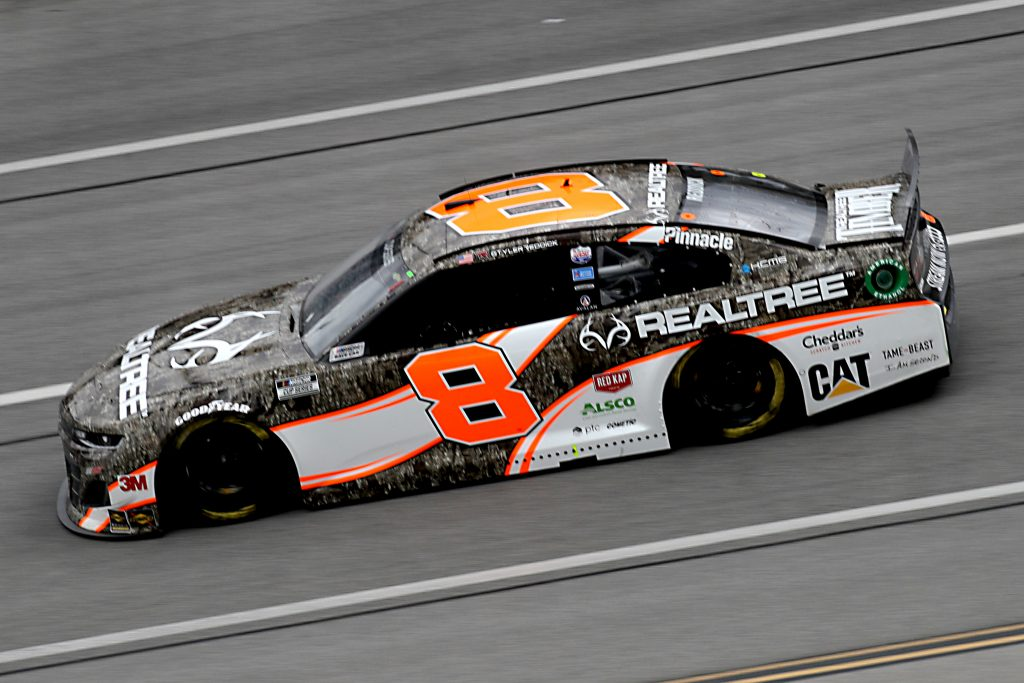 TALLADEGA, ALABAMA - JUNE 22: Tyler Reddick, driver of the #8 Realtree Chevrolet, drives during the NASCAR Cup Series GEICO 500 at Talladega Superspeedway on June 22, 2020 in Talladega, Alabama. (Photo by Chris Graythen/Getty Images) | Getty Images