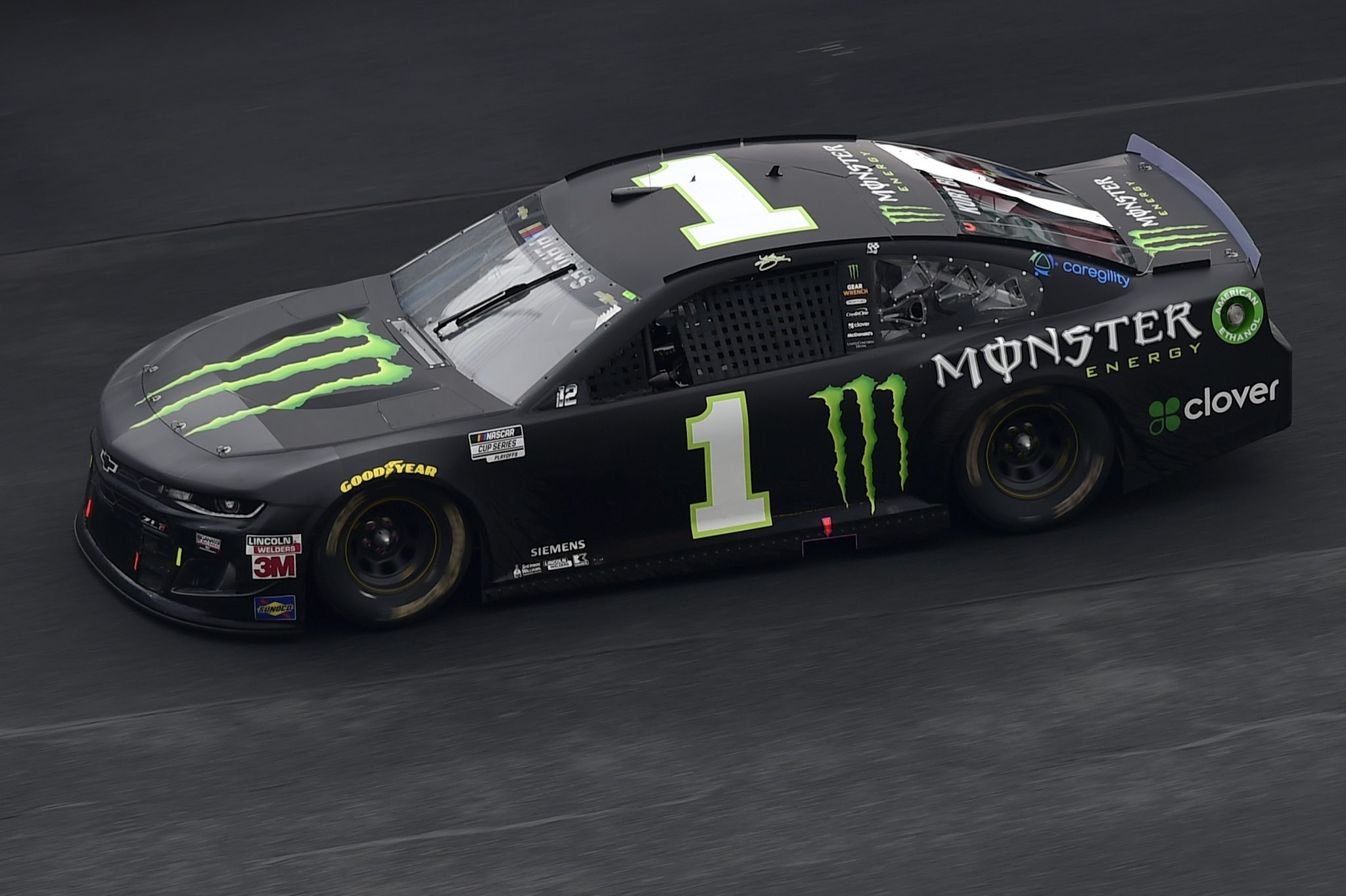 CONCORD, NORTH CAROLINA - OCTOBER 11: Kurt Busch, driver of the #1 Monster Energy Chevrolet, drives during the NASCAR Cup Series Bank of America ROVAL 400 at Charlotte Motor Speedway on October 11, 2020 in Concord, North Carolina. (Photo by Jared C. Tilton/Getty Images) | Getty Images