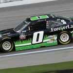 KANSAS CITY, KANSAS - OCTOBER 17: Jeffrey Earnhardt, driver of the #0 Forever Lawn Chevrolet, drives during the NASCAR Xfinity Series Kansas Lottery 300 at Kansas Speedway on October 17, 2020 in Kansas City, Kansas. (Photo by Chris Graythen/Getty Images)   Getty Images