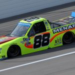 KANSAS CITY, KANSAS - OCTOBER 17: Matt Crafton, driver of the #88 Ford, drives during the NASCAR Gander RV & Outdoors Truck Series Clean Harbors 200at Kansas Speedway on October 17, 2020 in Kansas City, Kansas. (Photo by Chris Graythen/Getty Images) | Getty Images