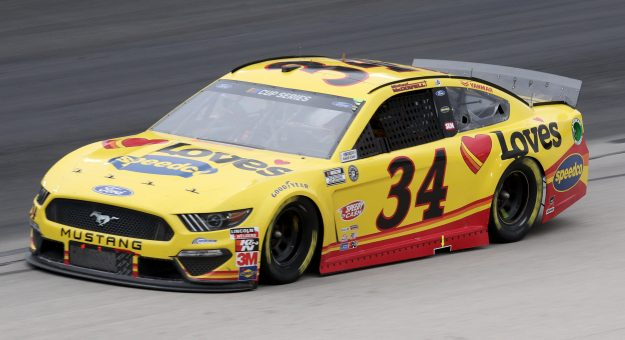 FORT WORTH, TEXAS - OCTOBER 28: Michael McDowell, driver of the #34 Love's Travel Stops Ford, drives during the NASCAR Cup Series Autotrader EchoPark Automotive 500 at Texas Motor Speedway on October 28, 2020 in Fort Worth, Texas. (Photo by Chris Graythen/Getty Images) | Getty Images