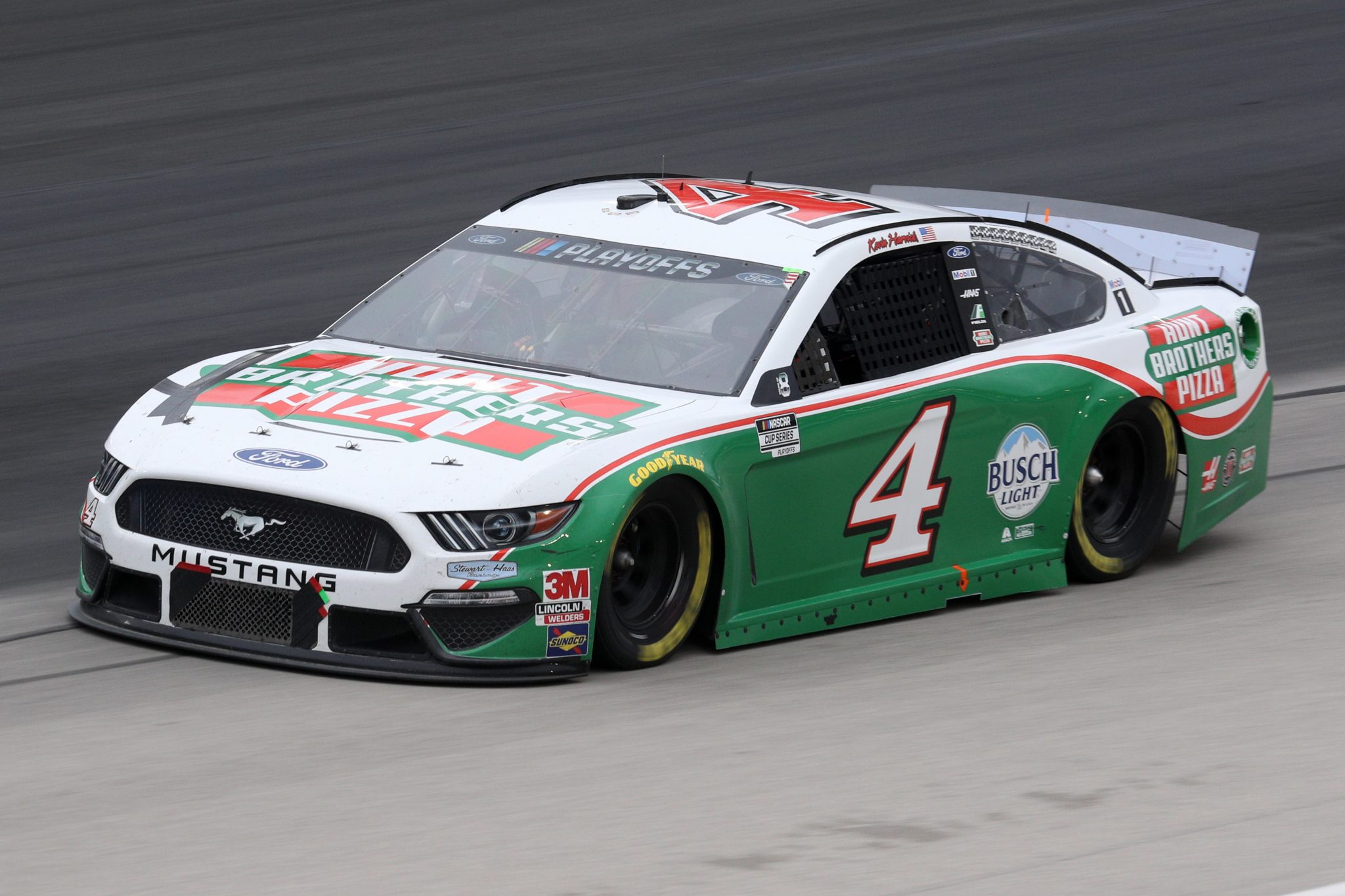 FORT WORTH, TEXAS - OCTOBER 28: Kevin Harvick, driver of the #4 Hunt Brothers Pizza Ford, drives during the NASCAR Cup Series Autotrader EchoPark Automotive 500 at Texas Motor Speedway on October 28, 2020 in Fort Worth, Texas. (Photo by Chris Graythen/Getty Images) | Getty Images