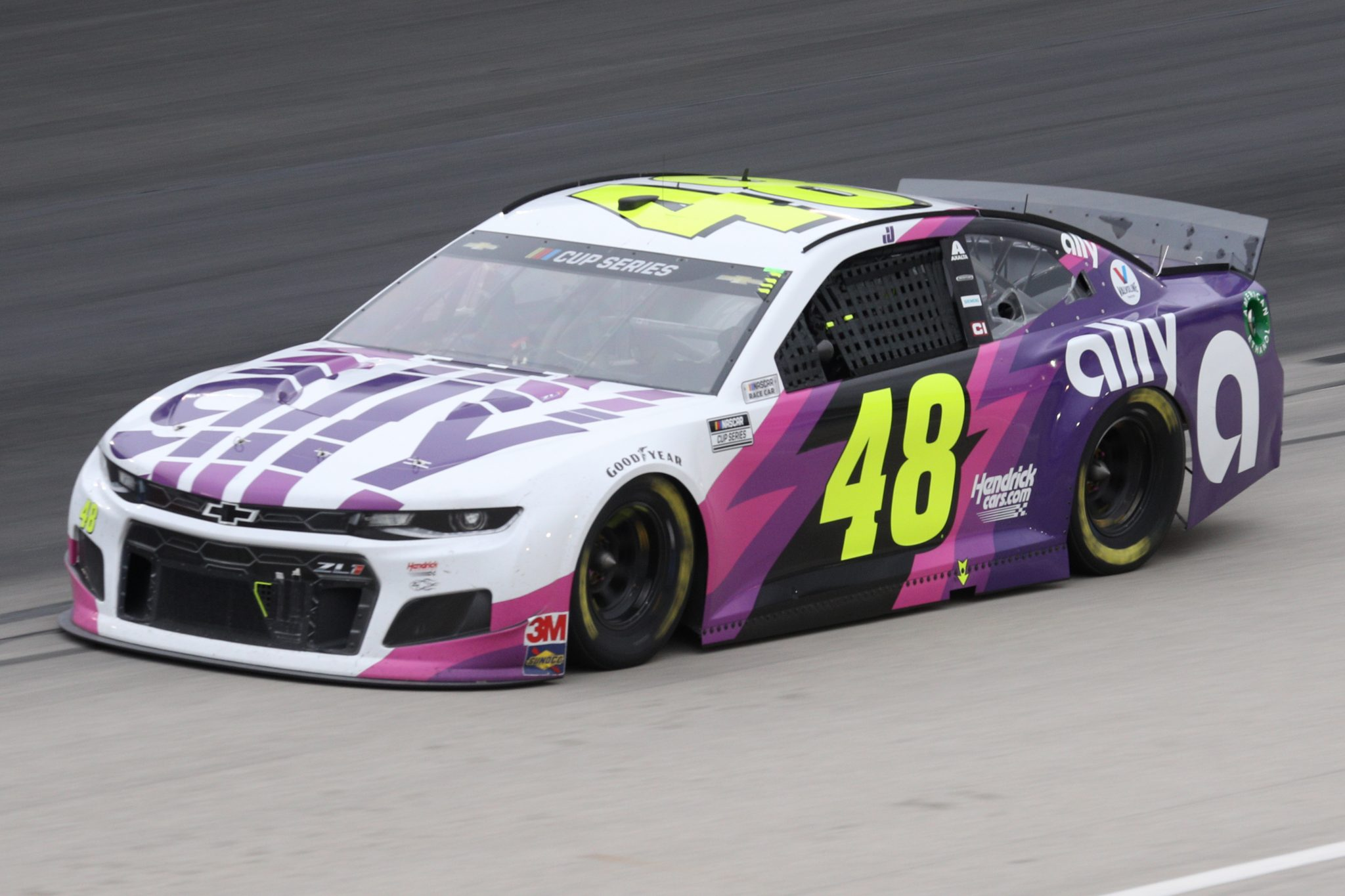 FORT WORTH, TEXAS - OCTOBER 28: Jimmie Johnson, driver of the #48 Ally designed by Noah Sweet Chevrolet, drives during the NASCAR Cup Series Autotrader EchoPark Automotive 500 at Texas Motor Speedway on October 28, 2020 in Fort Worth, Texas. (Photo by Chris Graythen/Getty Images) | Getty Images